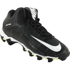 37605c27a81 Nike Alpha Shark 2 3/4 Bg Football Cleats - Boys Black White Anthracite  Rogan's