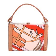 Limited Edition WORK OF ART Hermes Special Pochette MINAUDIERE MINIBOX RED | From a collection of rare vintage handbags and purses at http://www.1stdibs.com/fashion/accessories/handbags-purses/
