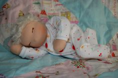 FREE Waldorf doll-baby sewing pattern (not jointed)