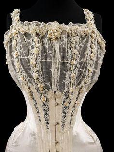 Wedding corset early 1905   V