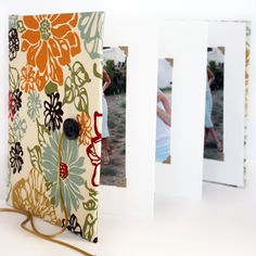 DIY Accordion Photo Book - I would make this as a quote pic book I think!!