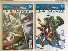 DC Suicide Squad Rebirth 1 Cover A Cover B Amanda Conner Variant 1st Printing | eBay