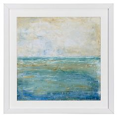 This would look nice with your room if you use the gold accents and it's a bit abstract - Z Gallerie - Tranquil Coast 2