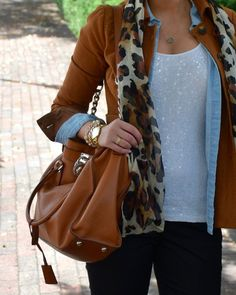 Leopard, Layers and Line Floyd Jewelry- Sensibly Sharp