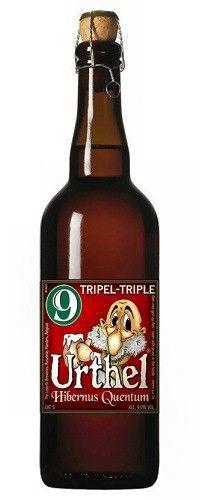 Cerveja Urthel Hibernus Quentum, estilo Belgian Tripel, produzida por De Leyerth…