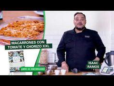Macarrones con tomate y chorizo XXL de Thermomix ® - YouTube Chorizo, Pasta, Youtube, Youtubers, Youtube Movies, Pasta Recipes, Pasta Dishes