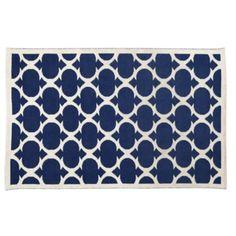 8 x 10' Magic Carpet Rug (Dk. Blue)  | The Land of Nod