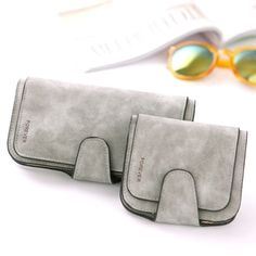 New Fashion Wallets Synthetic PU Leather High Quality Credit Card Holder Purse Hasp Wallet Retro Pocket New Fashion, Ladies Fashion, Womens Fashion, Pu Leather, Sunglasses Case, Card Holder, Backpacks, Pocket, Purses
