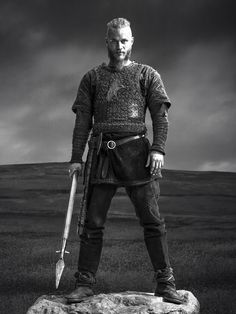 Ragnar Lothbrok - Travis Fimmel - Vikings