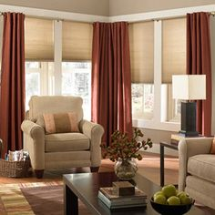 Floors, Windows & Doors Products drapes with shades Design Ideas, Pictures, Remodel and Decor