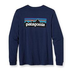 Patagonia Men's Long-Sleeved P-6 Logo T-Shirt. Don't care if it's a mans shirt, it looks so comfortable