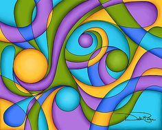 Browse through images in Debi Payne's Cubism Art collection. Digital paintings in the Cubism style of art. Circle Art, Inner Circle, Cubism Art, Fantastic Art, Fractal Art, Fabric Painting, Fine Art America, Pop Art, Fine Art Prints