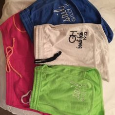 ⚡️TODAY SALE⚡️4) Gilly Hicks Sophie Shorts NWOT M Brand new Gilly Hicks Lot of 4 Shorts NWOT Blue-sail Gilly, White-bondi bch, Neon Green-sail Gilly, and pink G.H. I purchased these and then lost weight. Soft, cozy, daily summer wear shorts.  Fit size 4,6,8  Gilly Hicks Website gone and stores have either closed or merged. I wish these fit! Gilly Hicks Shorts