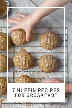 These 7 muffin recipes are tried and true. Simple muffin recipes made with ingredients you likely have in your pantry! We love muffins for breakfast and they also make great afterschool snacks! These muffin recipes freeze great for meal prep over the weekend. #muffinrecipe #quickbreakfastrecipe Easy Blueberry Muffins, Lemon Poppyseed Muffins, Savory Muffins, Breakfast Items, Make Ahead Breakfast, Breakfast Recipes, Simple Snacks, Quick Snacks, Simple Muffin Recipe