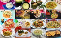 Os proponemos una recopilación de 18 recetas con calabacín tan fáciles y ricas que querrás probarlas todas sin excepción.