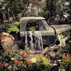 6 wildly clever ways to repurpose vintage trucks.