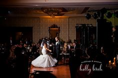 Wedding | Reception | Champaign Country Club | First Dance | Off-camera Flash | www.hollybirchphotography.com