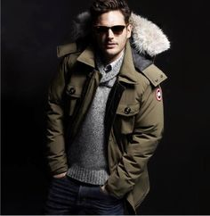 Look of the Day - Keeping It Warm With Canadian Goose