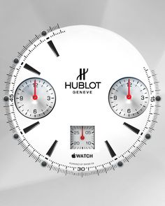 Apple Watch Face - Hublot . chrono