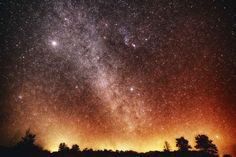 Waimea Kauai Milky Way Night Sky, Hawaii