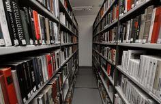 The book storage room in Järvenpää city library