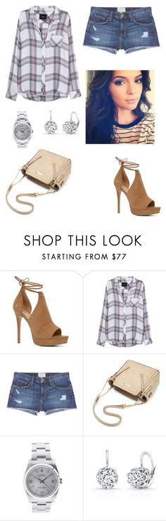 """""""Casual Beauty Queen"""" by izzie1800 ❤ liked on Polyvore featuring ALDO, Rails, Current/Elliott and Rolex"""