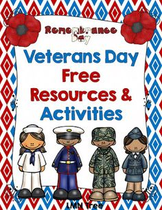 LMN Tree: Veterans Day Free Resources and Activities. Lots of great crafts and activities fro primary grades. LMN Tree: Veterans Day Free Resources and Activities. Lots of great crafts and activities fro primary grades. Veterans Day Poppy, Free Veterans Day, Veterans Day Activities, Veterans Day Gifts, Kindergarten Activities, Holiday Activities, Veterans Day For Kids, Preschool, Kindergarten Classroom