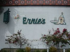 Ernie's Mexican Restaurant in North Hollywood Bean And Cheese Burrito, California Missions, North Hollywood, My Childhood, Mexican, Neon Signs, Restaurant, Diner Restaurant, Restaurants