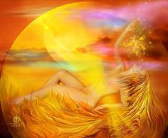 Day Forty-Nine: Lesson Your Manipura Glow-The Solar Plexus Chakra Art Chakra, Chakra Healing, Sacred Feminine, Divine Feminine, Pranayama, Chakra Du Plexus Solaire, Goddess Art, Divine Goddess, Moon Goddess