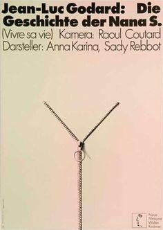 'Vivre sa vie: Film en douze tableaux', Jean-Luc Godard, 1962
