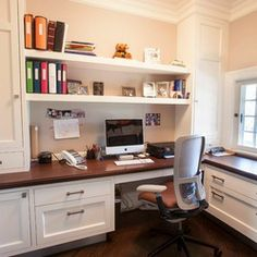 Ideas For Our Home Office On Pinterest Basement