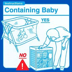 Parenting Instructions: This reminds me of my bf who thinks all bad kids need to just go to their cage!!