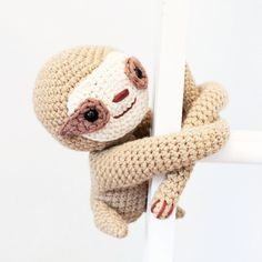 8 tips for crocheting amigurumi : Look what Ive been working on Isnt he sweet crochetsloth Id love some ideas on what to crochet next Pop a comment below or send me a DM with your thoughts Crochet Round, Half Double Crochet, Crochet Yarn, Single Crochet, Crochet Toys, Free Crochet, Nursery Patterns, Baby Patterns, Crochet Patterns