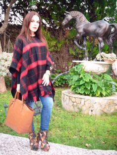estefania579458 Outfit  poncho
