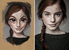 Vous pourriez bien être la prochaine personne que Julio Cesar va transformer en illustration ! L'artiste brésilien s'est amusé à tirer le portrait de certaines personnes, au ha...