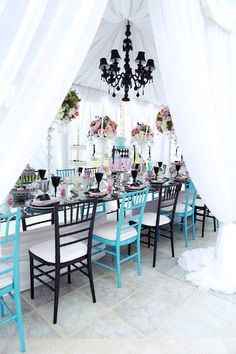 Alice in Wonderland Themed Sweet 16-- {Ciel's Very Merry Unbirthday} by Melody Melikian Photography