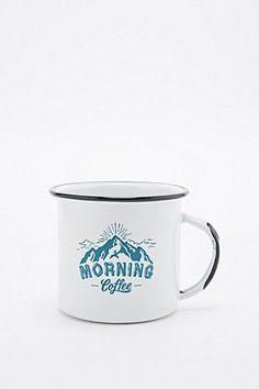 Adventure Enamel Mug - Urban Outfitters