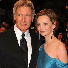 Harrison Ford and the she-devil Calista flockhart who stole him from me