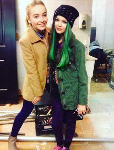 Sabrina Carpenter and Nikki Hahn