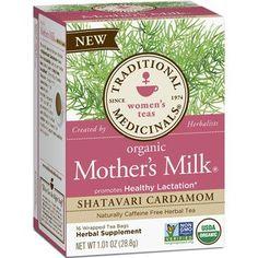 Traditional Medicinals Tea Orgnc Hrb Mthr Mlk Shat (6x16 Bags)