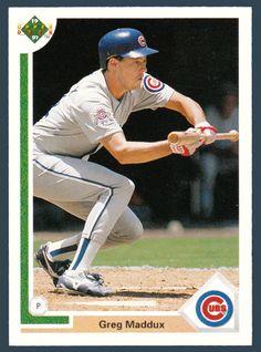 Greg Maddux # 115 - 1991 Upper Deck Baseball