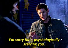 Basically my entire relationship with Supernatural in one GIF.