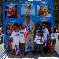 John Leguizamo at the Puerto Rican Day Parade in NYC! #iceage