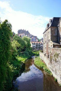 Dean Village, Edinburgh, Scotland guide by Solosophie.