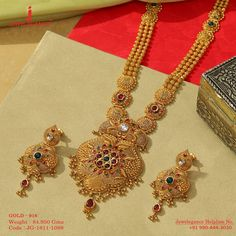 Fancy these beauties collections. Get in touch with us on Gold Mangalsutra Designs, Gold Earrings Designs, Gold Jewellery Design, Real Gold Jewelry, Gold Wedding Jewelry, Bridal Jewellery, Fashion Jewelry, Gold Fashion, Fashion Necklace