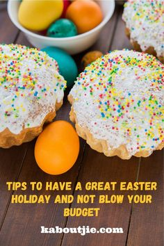It's so easy to overspend especially when there is a school break! Here are some tips to have a great Easter holiday and not overspend. @kingprice Easter Hunt, Easter Eggs, Easter Games, Easter Printables, Easter Holidays, Easter Baskets, Budgeting, Tips, Easy