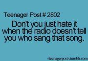 Don't you just hate...