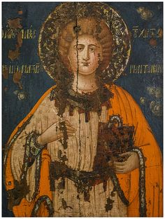 Greek Icon, Omodos, Cyprus