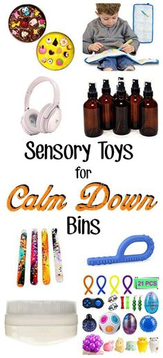 Trying to get back to calm after getting upset can be very challenging for kids with sensory processing disorder and other similar sensory issues. Try these tools to help the transition to come a little more easily. Moms and teachers need these tips. Play Therapy Activities, Sensory Therapy, Sensory Activities, Autism Activities, Toddler Activities, Sensory Toys For Autism, Sensory Rooms, Sensory Bins, Sensory Play