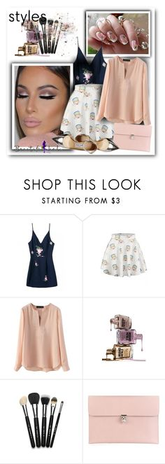 """""""BHalo"""" by sneky ❤ liked on Polyvore featuring Avon, Alexander McQueen, Jimmy Choo, women's clothing, women's fashion, women, female, woman, misses and juniors"""